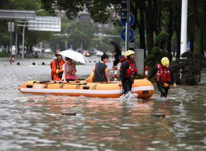 Cina tifone Lekima