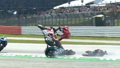 dovizioso incidente