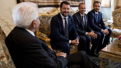 consultazioni Lega Salvini