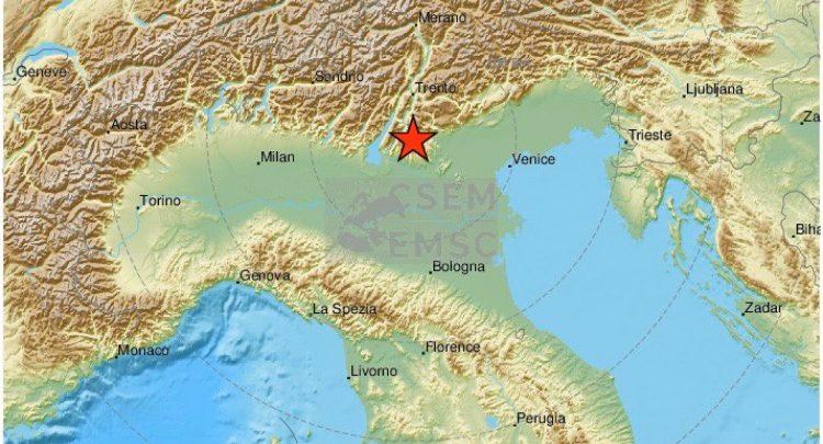 terremoto verona oggi