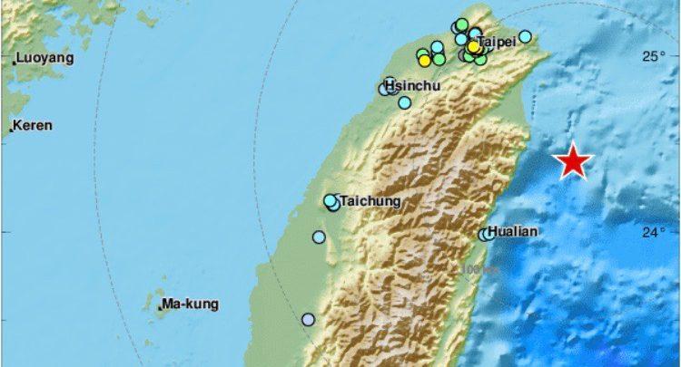 terremoto taipei taiwan