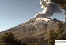 Messico vulcano video