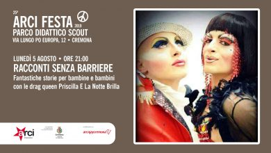 drag queen evento bambini cremona