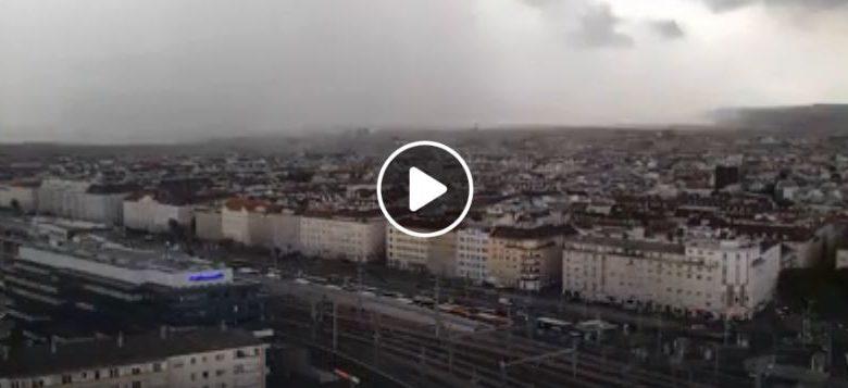 Vienna nubifragio