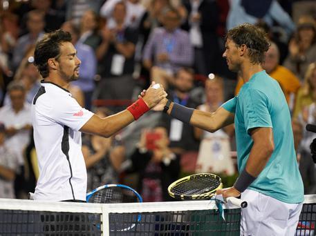 Tennis Fognini Nadal