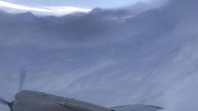 aereo occhio uragano dorian
