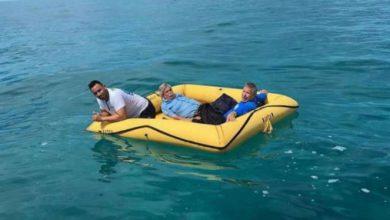 bahamas pescatore salva persone