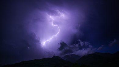 fulmini maltempo meteo