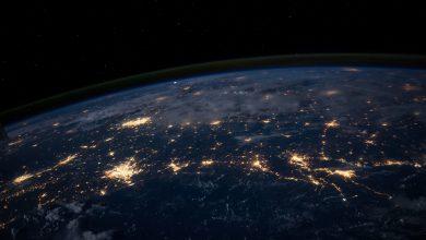 Terra pianeta spazio