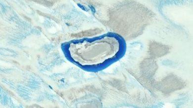groenlandia ghiaccio timelapse video