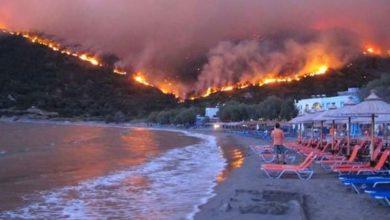 incendi grecia samos