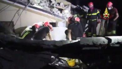 terremoto centro italia vigili del fuoco