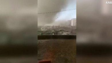 tornado Cina