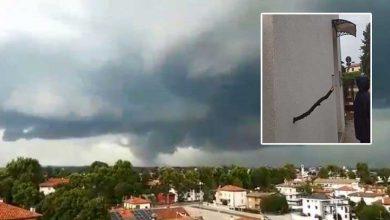 tornado udine video