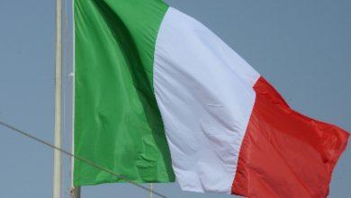 fuoco bandiera italiana