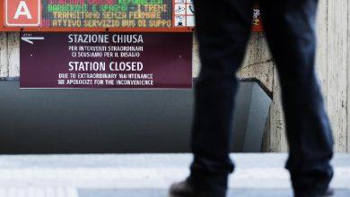 metro roma scale mobili