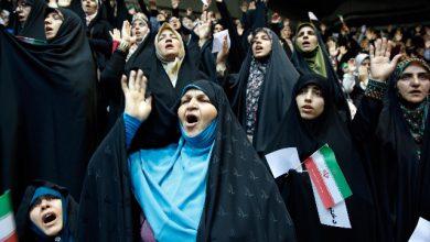 iran donne stadi