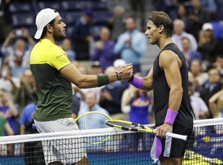 Tennis, Us Open: Berrettini sconfitto da Nadal