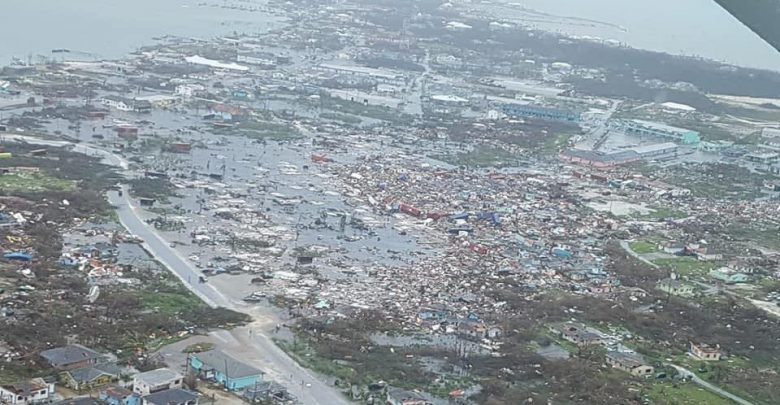Uragano Dorian Isole Abaco