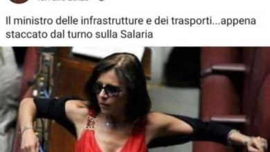 De Micheli, insulti sessisti da un esponente di Casapound