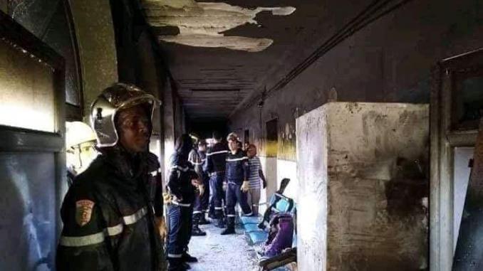 algeria incendio