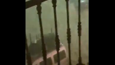 Spagna piogge