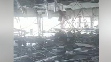 Uragano Dorian aeroporto Bahama