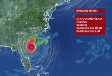 Uragano Dorian, video traiettoria - METEO EXPERT
