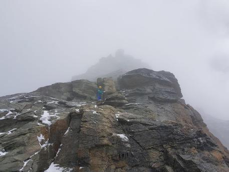 incidente in montagna Cervino
