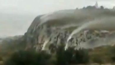 cascate vento spagna video