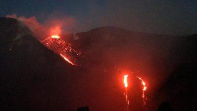 etna eruzione foto