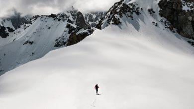 ghiacciaio monte bianco