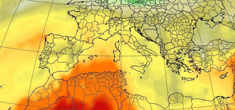 meteo italia caldo weekend