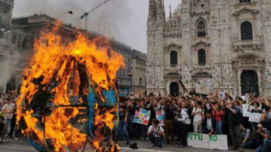 milano clima sciopero fridays for future