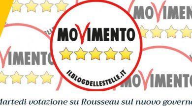 Rousseau, Movimento 5 Stelle, m5s