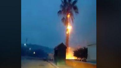 tornado grecia maltempo video