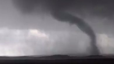 tornado video wyoming dakota