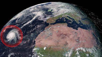 uragano lorenzo europa