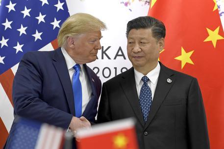 Donald Trump,Xi Jinping