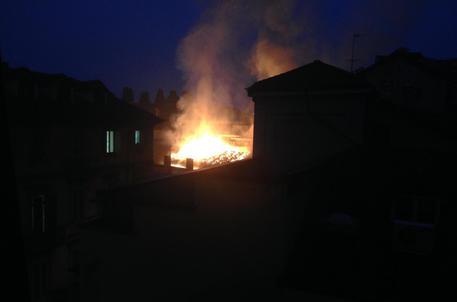 Torino Incendio cavallerizza reale