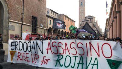 bologna turchia protesta