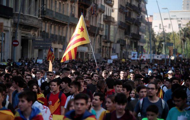 Barcellona proteste