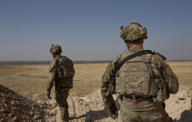 usa truppe iraq siria