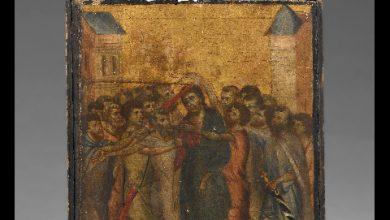 quadro cimabue Cristo deriso