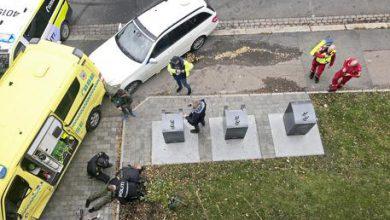 Oslo Norvegia ambulanza