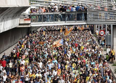 Barcellona, manifestazioni