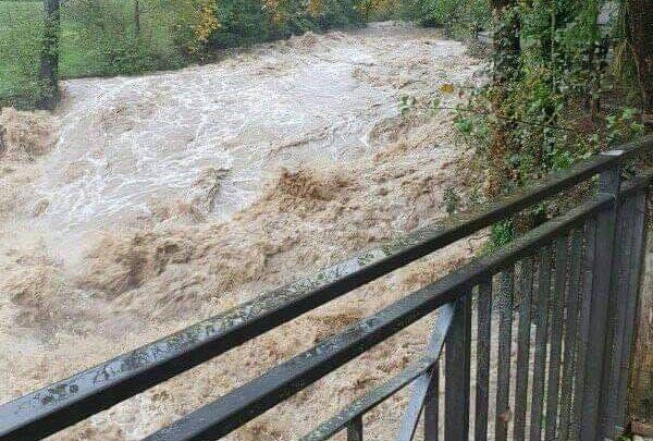 Liguria pioggia situazione