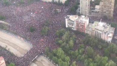 Cile proteste