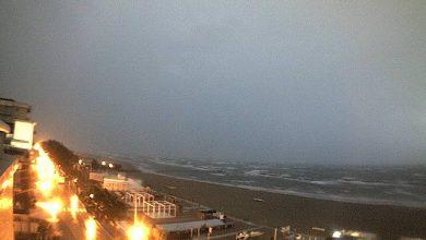 vento a Milano Webcam Rimini. Fonte webcam-meteo.it