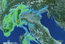 maltempo oggi pioggia piemonte lombardia liguria